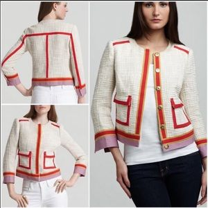 Tory Burch Farrow Tweed Jacket